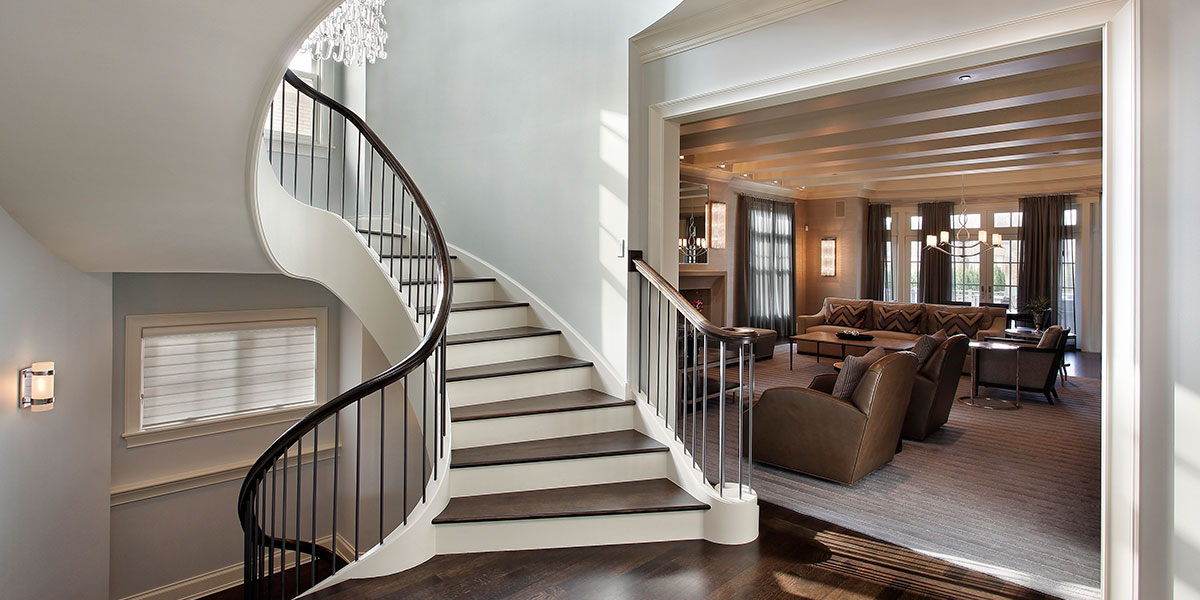 Park Ridge Custom Home Builders - Stairs 1