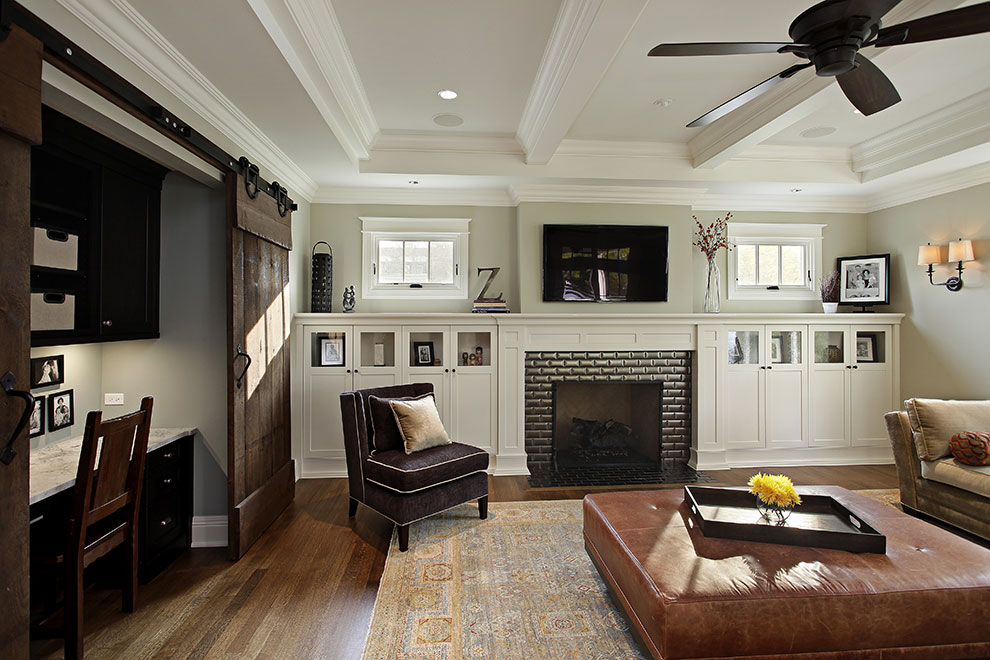 Awesome 14 Modern Craftsman Home Interior Example