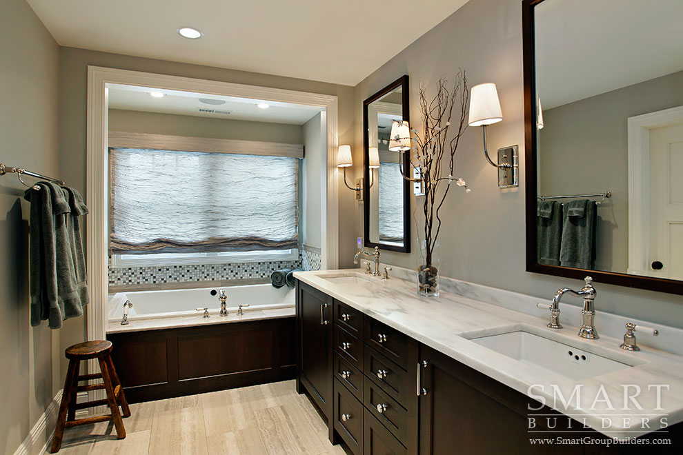 Craftsman Style Master Bathroom : Smart builders fine homes renovations group