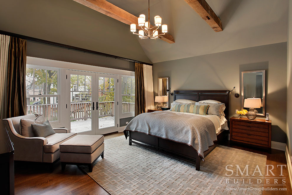 Smart builders fine homes renovations smart group for Master bedroom images