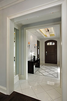 Foyer, Distinctive Transitional 15