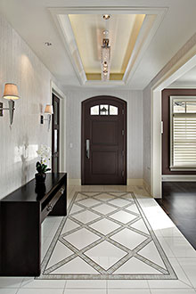 Foyer, Distinctive Transitional 14