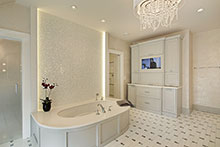 Master Bathroom, Distinctive Transitional 32