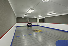 Lower Level Sport Court