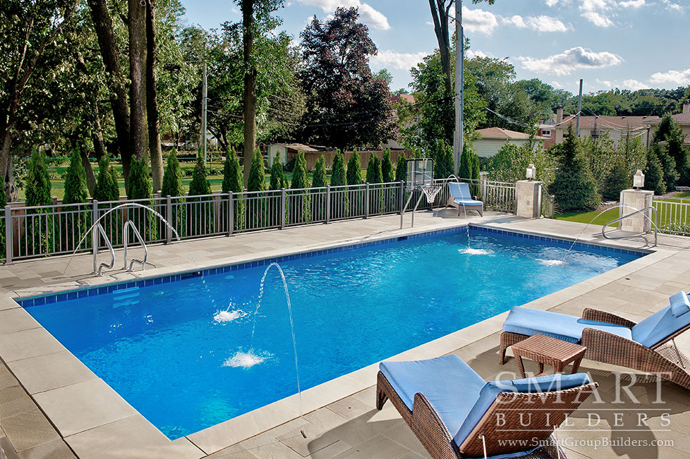 Pool & Water Spouts - SMART Builders – Fine Homes | Renovations | SMART Group Custom Home Builders | New Construction Home Builders, Professional Remodeling