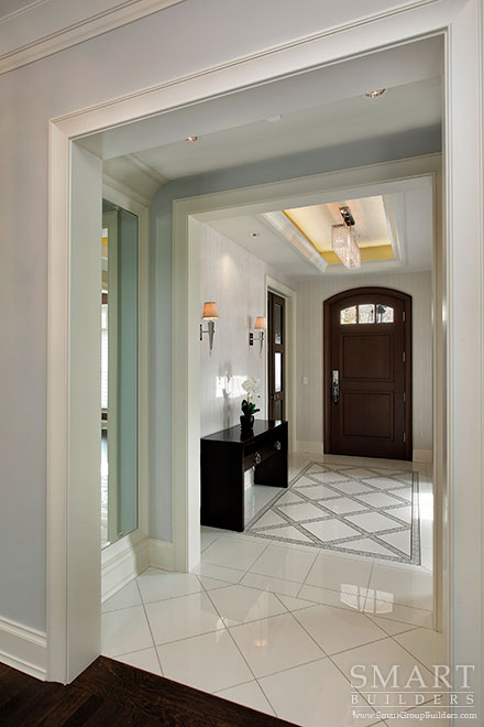 Foyer - SMART Builders – Fine Homes | Renovations | SMART Group Custom Home Builders | New Construction Home Builders, Professional Remodeling