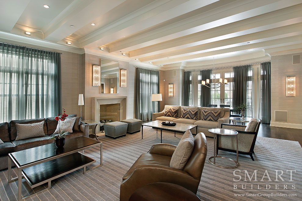 Great Room - SMART Builders – Fine Homes | Renovations | SMART Group Custom Home Builders | New Construction Home Builders, Professional Remodeling