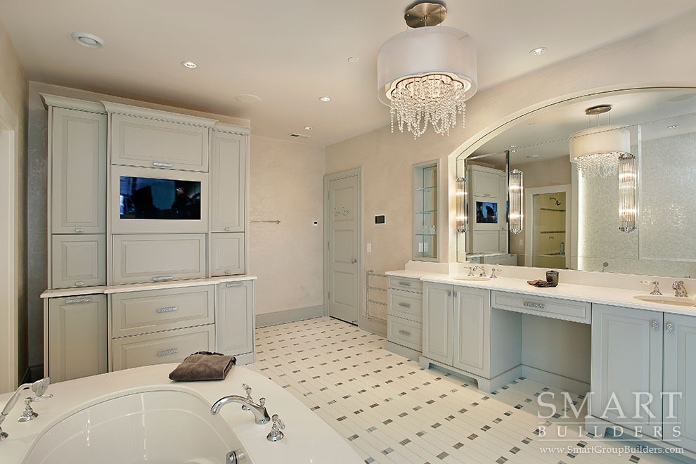 Master Bathroom - SMART Builders – Fine Homes | Renovations | SMART Group Custom Home Builders | New Construction Home Builders, Professional Remodeling