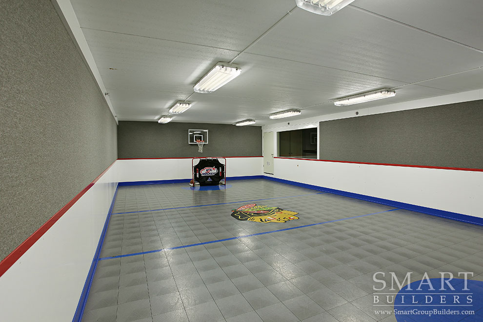 Lower Level Sport Court - SMART Builders – Fine Homes | Renovations | SMART Group Custom Home Builders | New Construction Home Builders, Professional Remodeling