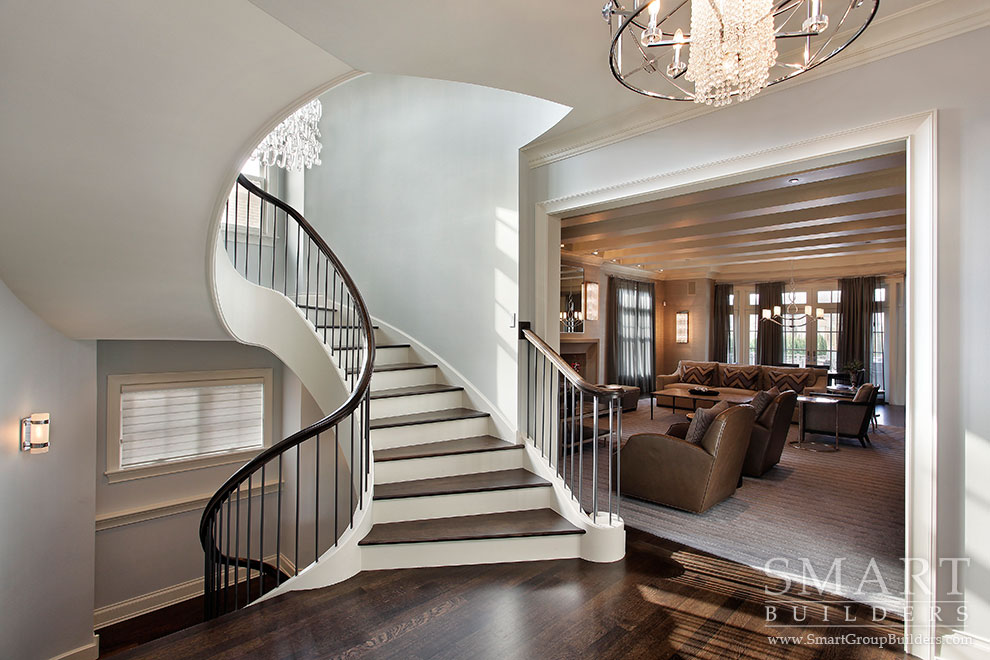 Stairway - SMART Builders – Fine Homes | Renovations | SMART Group Custom Home Builders | New Construction Home Builders, Professional Remodeling