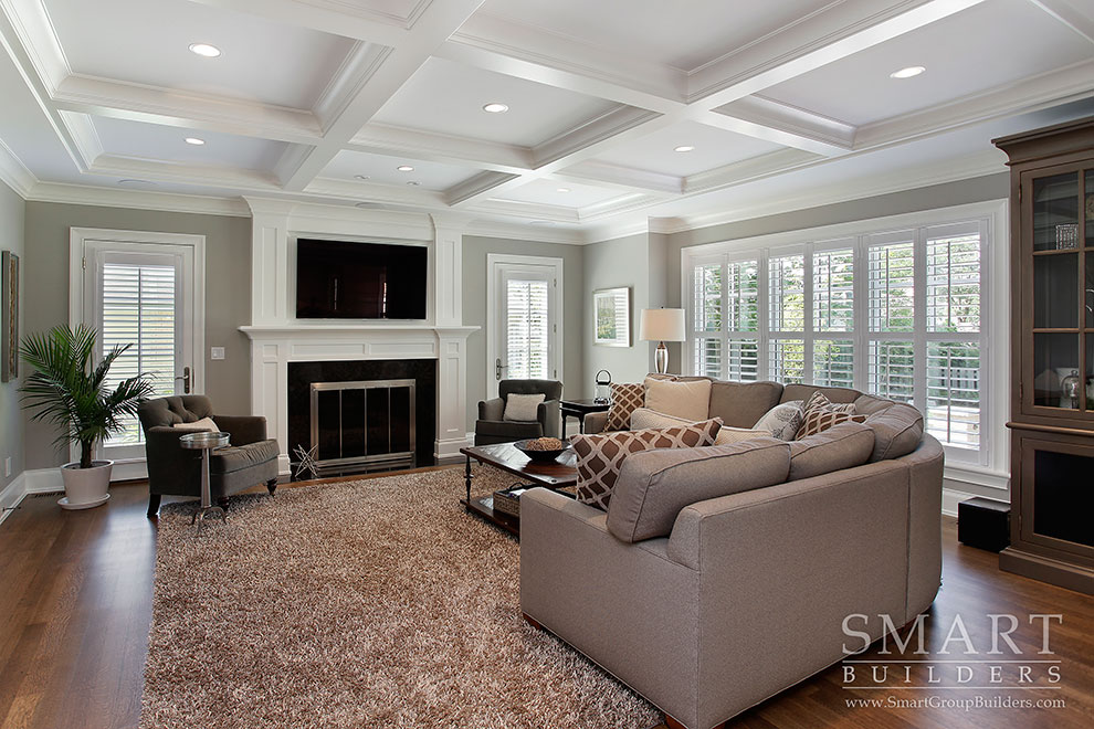 Family Room - SMART Builders – Fine Homes | Renovations | SMART Group Custom Home Builders | New Construction Home Builders, Professional Remodeling