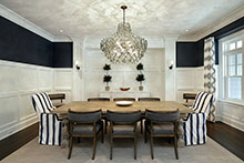 Dining Room, Sophisticated Hamptons 128