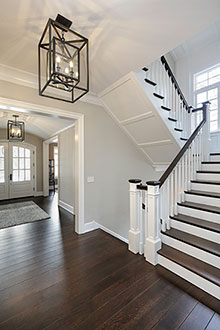 Foyer, Stairs, Sophisticated Hamptons 135