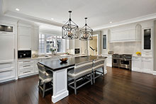 Kitchen, Sophisticated Hamptons Custom Home