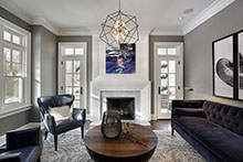 Living Room, Sophisticated Hamptons 129