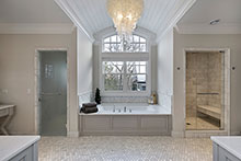 Master Bathroom, Sophisticated Hamptons 131