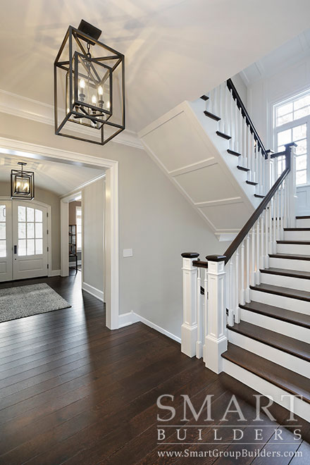 Foyer, Stairs - SMART Builders – Fine Homes | Renovations | SMART Group Custom Home Builders | New Construction Home Builders, Professional Remodeling