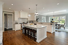 Kitchen, Classic Chic Custom Home