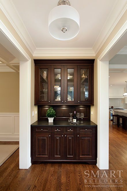 Butlers Pantry - SMART Builders – Fine Homes | Renovations | SMART Group Custom Home Builders | New Construction Home Builders, Professional Remodeling