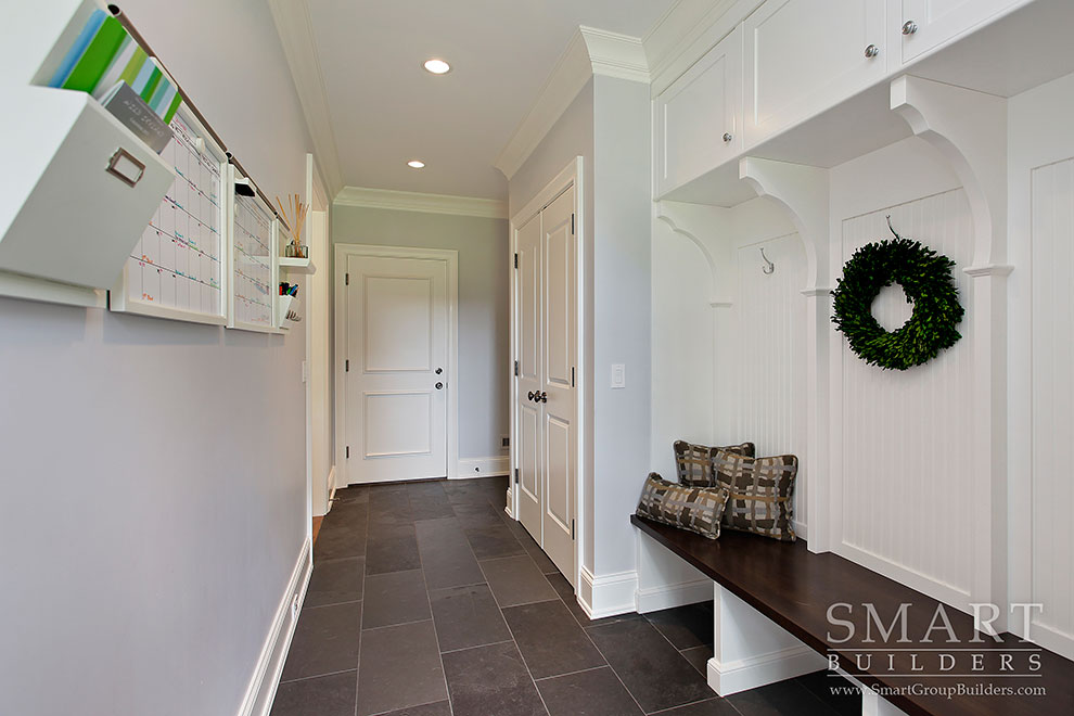 Mudroom - SMART Builders – Fine Homes | Renovations | SMART Group Custom Home Builders | New Construction Home Builders, Professional Remodeling