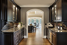 Butlers Pantry, Gracious European Custom Home
