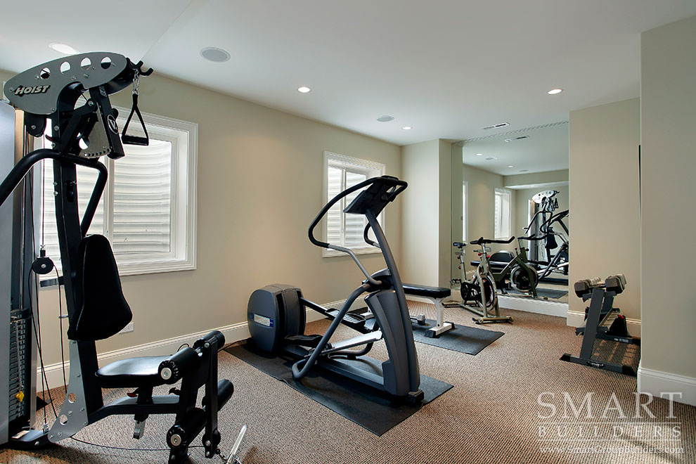 Exercise Room - SMART Builders – Fine Homes | Renovations | SMART Group Custom Home Builders | New Construction Home Builders, Professional Remodeling