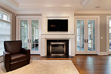 Fireplace, Elegant Traditional 53