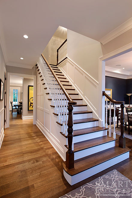 Staircase - SMART Builders – Fine Homes | Renovations | SMART Group Custom Home Builders | New Construction Home Builders, Professional Remodeling