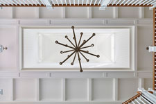 Coffered Ceiling in Main Foyer , Casual Elegance 149