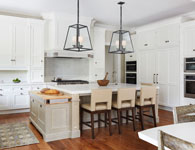 Kitchen, Casual Elegance Custom Home