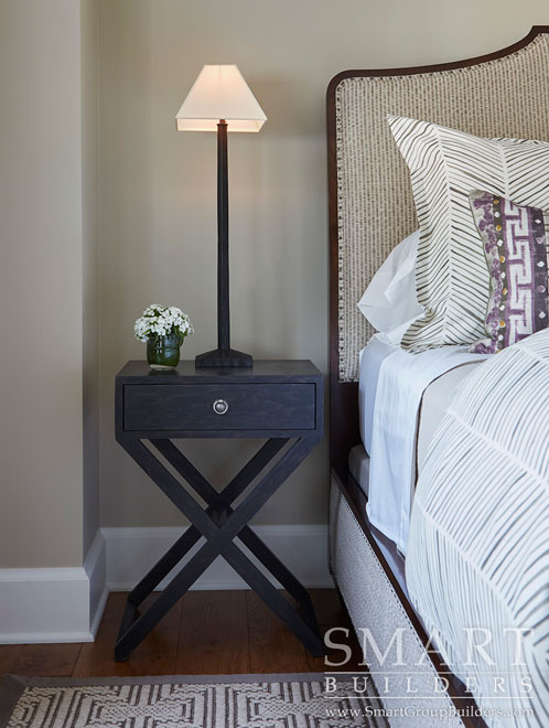 Bedroom Nightstand  - SMART Builders – Fine Homes | Renovations | SMART Group Custom Home Builders | New Construction Home Builders, Professional Remodeling