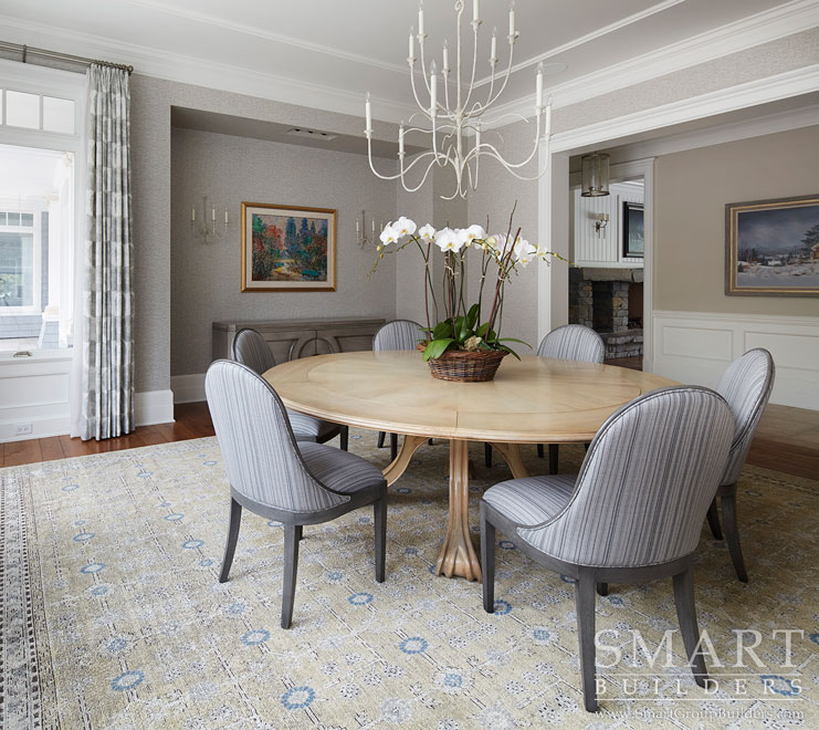 Dining Room - SMART Builders – Fine Homes | Renovations | SMART Group Custom Home Builders | New Construction Home Builders, Professional Remodeling