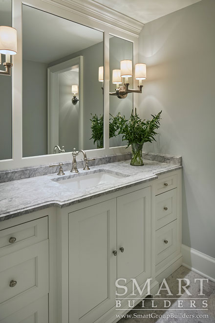 Guest Bathroom  - SMART Builders – Fine Homes | Renovations | SMART Group Custom Home Builders | New Construction Home Builders, Professional Remodeling