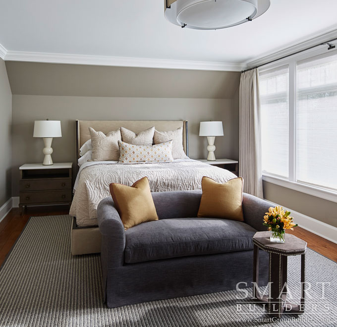 Guest Bedroom  - SMART Builders – Fine Homes | Renovations | SMART Group Custom Home Builders | New Construction Home Builders, Professional Remodeling