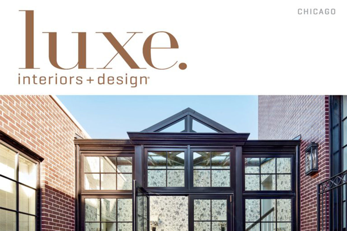 LAKE FOREST CUSTOM-BUILT HOME FEATURED IN LUXE INTERIORS